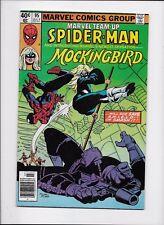 Marvel Comics    Marvel Team Up #95  1st App MOCKINGBIRD  VF/NM