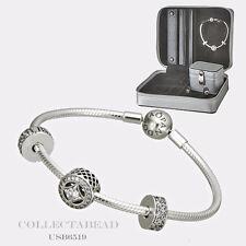 "Authentic Pandora Silver Elegance Bracelet Gift Set 7.5"" USB6519 *SPECIAL!!!"