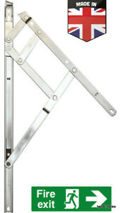 "Made in UK Window upvc Hinges Friction Stays 8"" 10"" 12"" 16"" 20"" 24"" inch pvc"