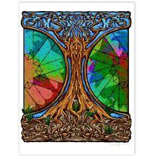 © ART - Tree Of Life Mandala Insect Nature Healing Original Artist Print by Di