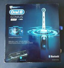 Oral-B Genius 9000 CrossAction Electric Toothbrush Kit - Midnight Black