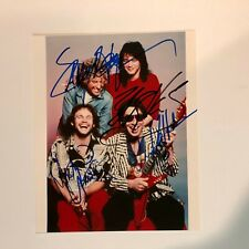 VAN HALEN Hand Signed Autographed 8x10 by all 4 Original Members