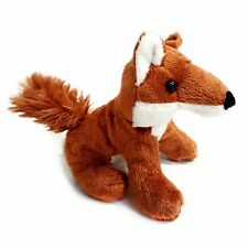 13cm Fox Soft Cuddly Toy - Suitable for all ages (0+)