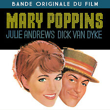 CD Mary Poppins - Soundtrack English & French Version / OST / IMPORT