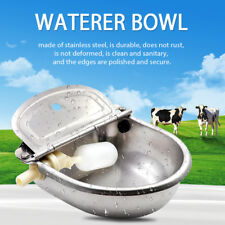 Automatic Valve Water Stainless Bowl Stock Drinking Horse Sheep Dog Auto Fill AU
