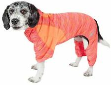 Pet Life Active 'Downward Dog' Heathered Performance 4-Way Stretch Two-Toned ...