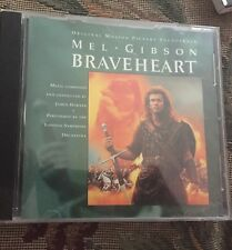 Braveheart : Mel Gibson : Motion Picture Soundtrack CD