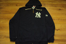 NEW YORK YANKEES NEW MLB MAJESTIC AUTHENTIC CLUBHOUSE FULL ZIP FLEECE JACKET
