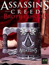 NEMESIS NOW - Assassins Creed - Brotherhood Krug - Hand Peint - Neuf/Emballage