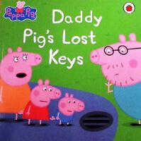 Preschool Bedtime Story - Peppa Pig Story Book: DADDY PIG'S LOST KEYS - NEW