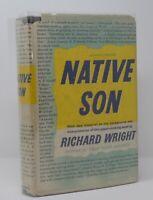 Richard Wright - Native Son - HCDJ 1st 1st Original Dust Jacket - NR