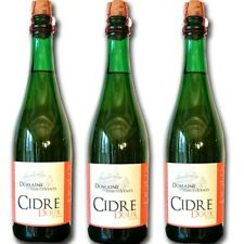 3 flessen zoete cider