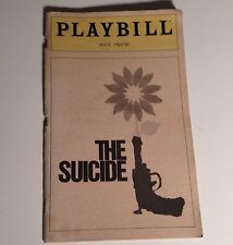 Playbill The Suicide Anta Theatre 1980 Broadway NYC Theater Nikolai Erdman
