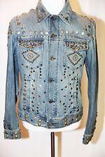 7500$ Dolce & Gabbana D&G Men's Studded Denim Jacket Size 52, RARE!!!! NEW, AUTH