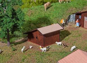 FALLER 130183 Small Livestock Barn Stugl-Stuls # New Original Packaging ##