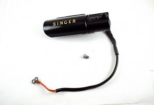 SINGER FEATHERWEIGHT 221K 222K SEWING MACHINE LAMP LIGHT ASSEMBLY COMPLETE