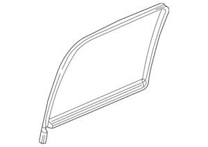 Genuine GM Glass Weather-Strip 15196230