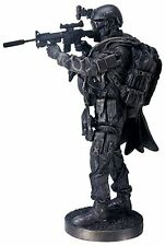 """US Navy SEAL #2 12.5"""" Bronzed Statue #8614 - Modern Warfare - Summit Collection"""