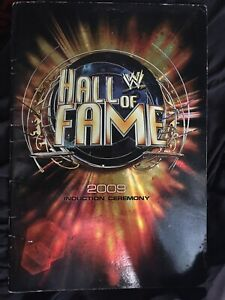 2009 WWE Hall Of Fame Program Signed by 25+ Inductees Austin Dusty Piper Race