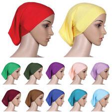 Women Stretchble Muslim Inner Hijab Caps Islamic Underscarf Beautiful Soft Hats