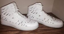 NIKE W  AF1 ULTRA  FORCE  MID JOLI  725075 100 White/White-Pure Platinum SIZE 11