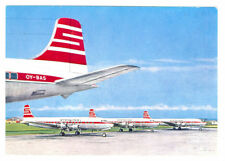 STERLING Airways Issued Douglas DC-6B Postcard
