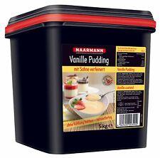 Naarmann Vanille Pudding mit Sahne verfeinert servierfertig 5000g