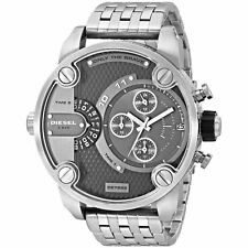 NEW DIESEL DZ7259 MENS BABY DADDY CHRONOGRAPH WATCH - 2 YEAR WARRANTY