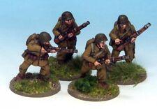 Bolt Action Crusader Miniatures Polish Riflemen II (4) 28mm metal New!