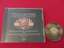 SEALED CD RICHTER GILELS MRAVINSKIJ SVETLANOV Tchaikovsky Piano Concertos France