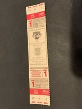 1991 PITTSBURGH PIRATES ATLANTA BRAVES NLCS 1 HOME GAME FULL TICKET MINT UNUSED