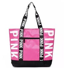 Victoria's Secret PINK Canvas  Bag Tote School Holiday Beach Shopping Travel Gym