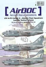 AirDoc Decals 1/32 LTV A-7E CORSAIR II Atlantic Fleet Squadrons Low Viz Scheme