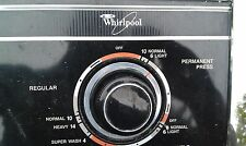 8I02 TEMPERATURE AND LEVEL CONTROLS FROM WHIRLPOOL WASHING MACHINE, GOOD COND