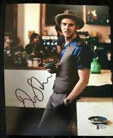 Dan Stevens SIGNED 8X10 Autographed Photo Downton Abbey DISNEY BAS Beckett COA