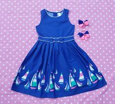 Gymboree girls stripes and anchors dress size 8