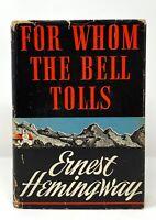 Ernest Hemingway - For Whom Bell Tolls - 1st 1st 1st State DJ 1940