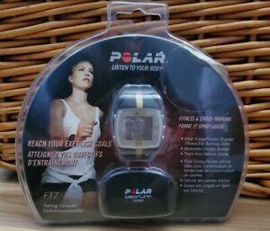 Polar FT7 Fitness Watch Heart Rate Training Sensor Black & Gold Brand New