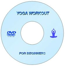 NEW YOGA FOR BEGINNERS DVD STRESS WEIGHT LOSS WELL BEING FITNESS MEDITATION