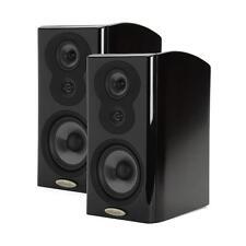 Pair (2) Polk Audio LSiM 703 Midnight Mahogany (Black) Bookshelf Speakers