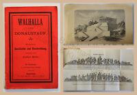 Müller Walhalla und Donaustauf Kurzgefasste Geschichte & Beschreibung um 1900 xz