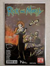Rick and Morty 38 Brain Trust Nerd Store Variant Mad Max Cover