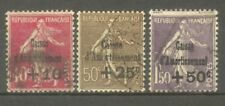"""FRANCE STAMP TIMBRE N°266/68 """"CAISSE AMORTISSEMENT 4eme SERIE 1930"""" OBLITERES TB"""