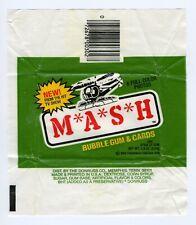 Mash Donruss Non-sports Card Wrapper 1982 EXC.