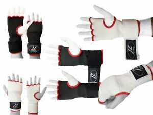 Inner Gel Padded Gloves Hand Wrap Quick Wrap bandages Boxing MMA Muay Thai UFC