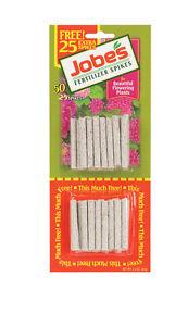 Jobe's 05231T Flowering Plant Fertilizer Spikes 10-10-4, 1 Pack Multicolor