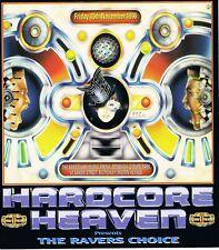 HARDCORE HEAVEN Rave Flyer Flyers A4 15/11/96 Sanctuary Milton Keynes PEZ art