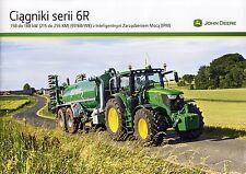 John Deere 6R 11 / 2014 catalogue brochure tracteur Traktor