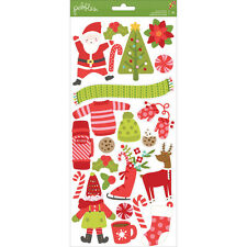 American Crafts Deck The Halls Collection Christmas Cardstock 51 Piece 6 X 12''