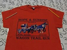 Medium- NWOT Hope And Sunrise Wagon Trail Run / Cut Sleeves  T- Shirt